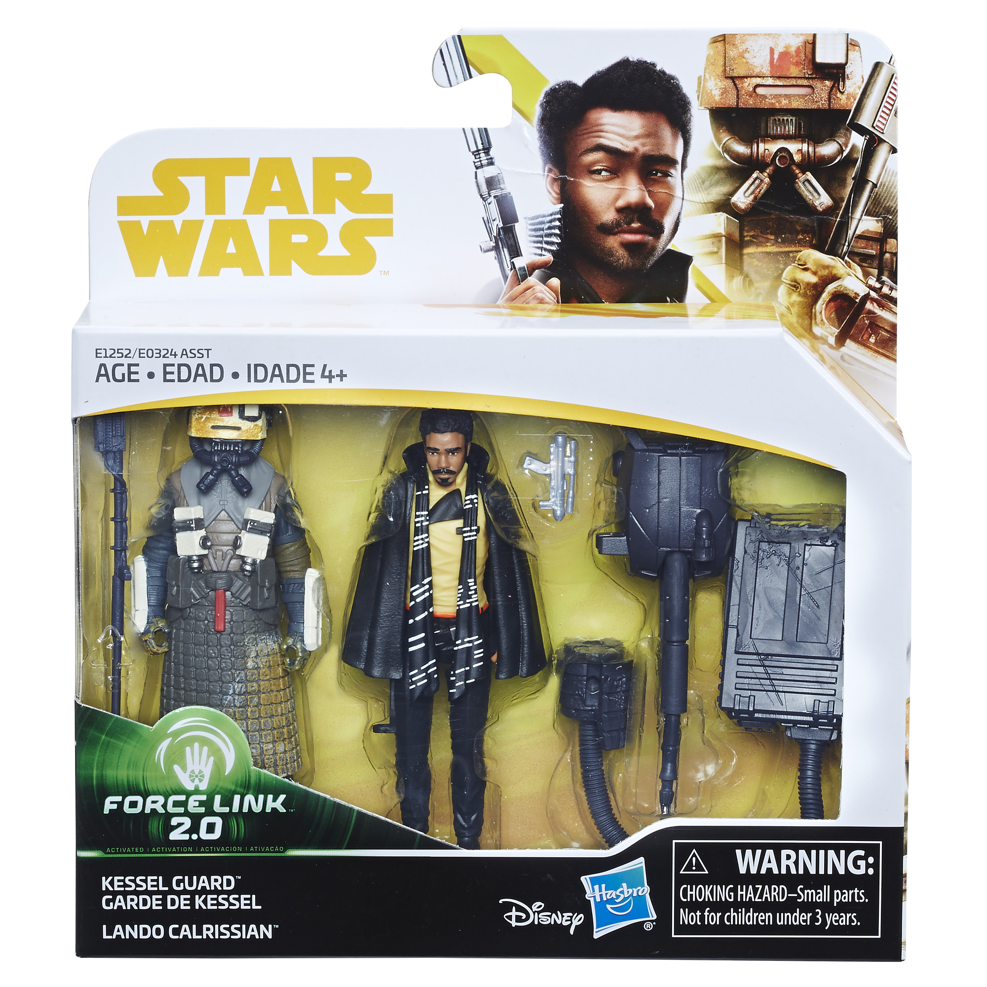 Solo: ASWS Force Link 2.0 Lando Calrissian & Kessel Guard 2-Pack 1