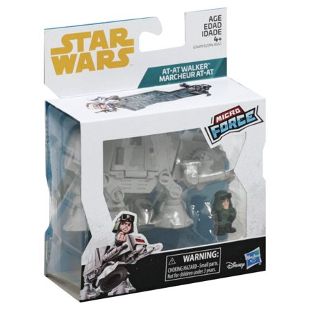 New Empire Strikes Back AT-AT with AT-AT Commander Micro Force set now available!