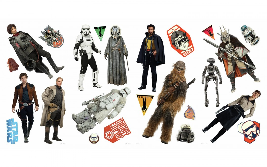 New Solo Movie Wall Decals Set now available!