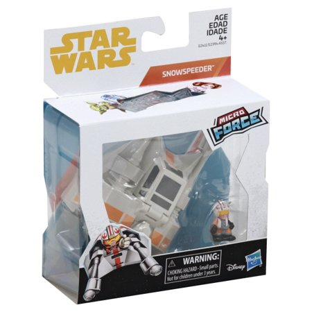 New Empire Strikes Back Luke with Snowspeeder Micro Force set now in stock!