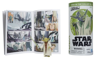 New Star Wars Galaxy of Adventures Yoda and Mini Comic Set now available!