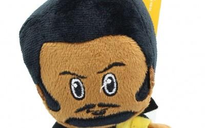 New Solo Movie Lando Calrissian Mini Heroes Clip Plush Toy available!