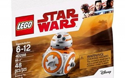 New Last Jedi BB-8 Polybag Lego Set now available!