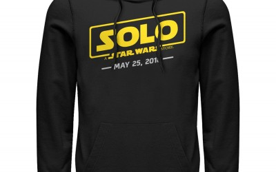 New Solo Movie Men's Logo Scrawl Hoodie now available!