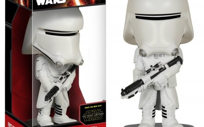 New Force Awakens Funko Pop! First Order Snowtrooper Wobbler Toy now in stock!