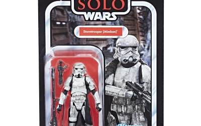 New Solo Movie Exclusive Imperial Stormtrooper (Mimban) Vintage Figure now available!