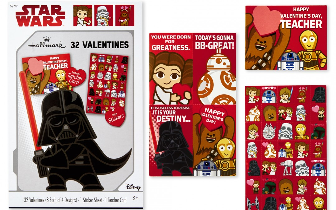 New Last Jedi Valentine's Day Cards Pack now available!