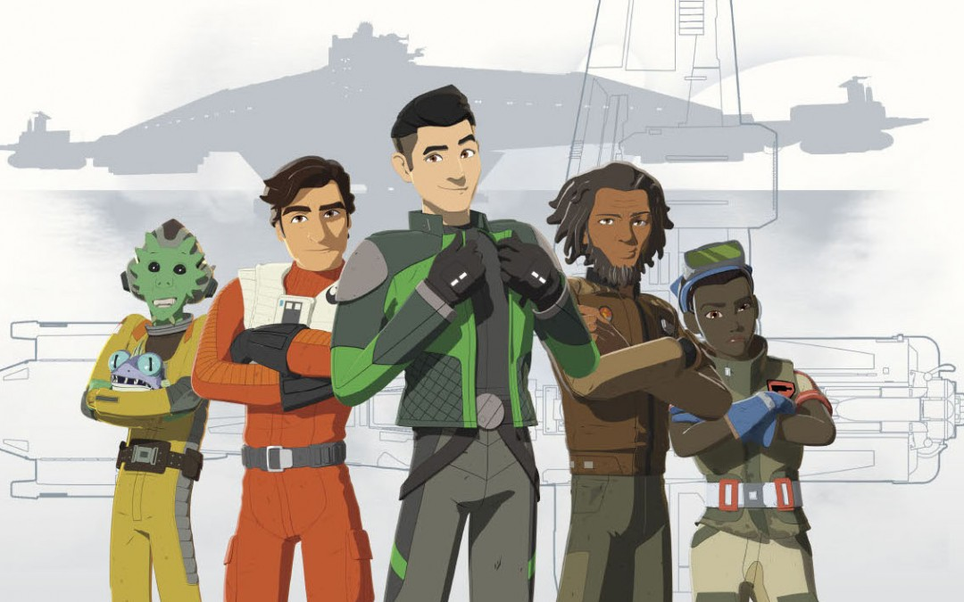 New Star Wars Resistance Photo Art Gloss Poster now available!