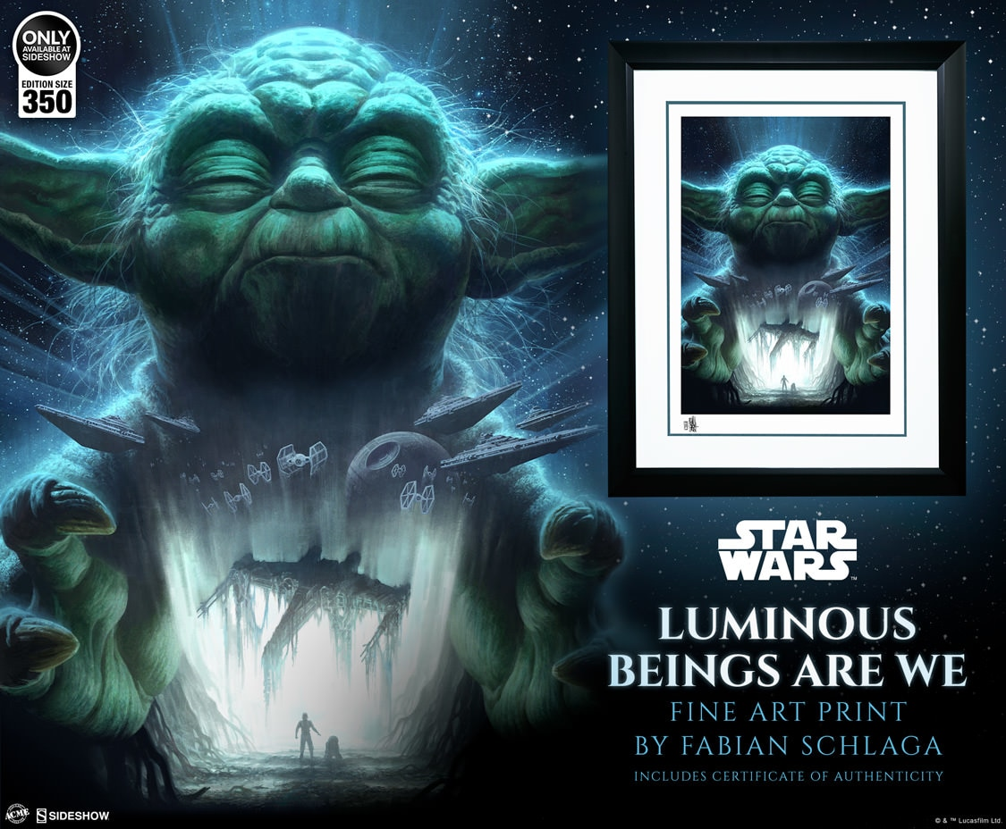 "SW ""Luminous Beings Are We"" Fine Art Print"