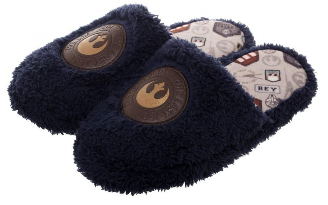 New Last Jedi Rey-Inspired Scuff Slippers now available!