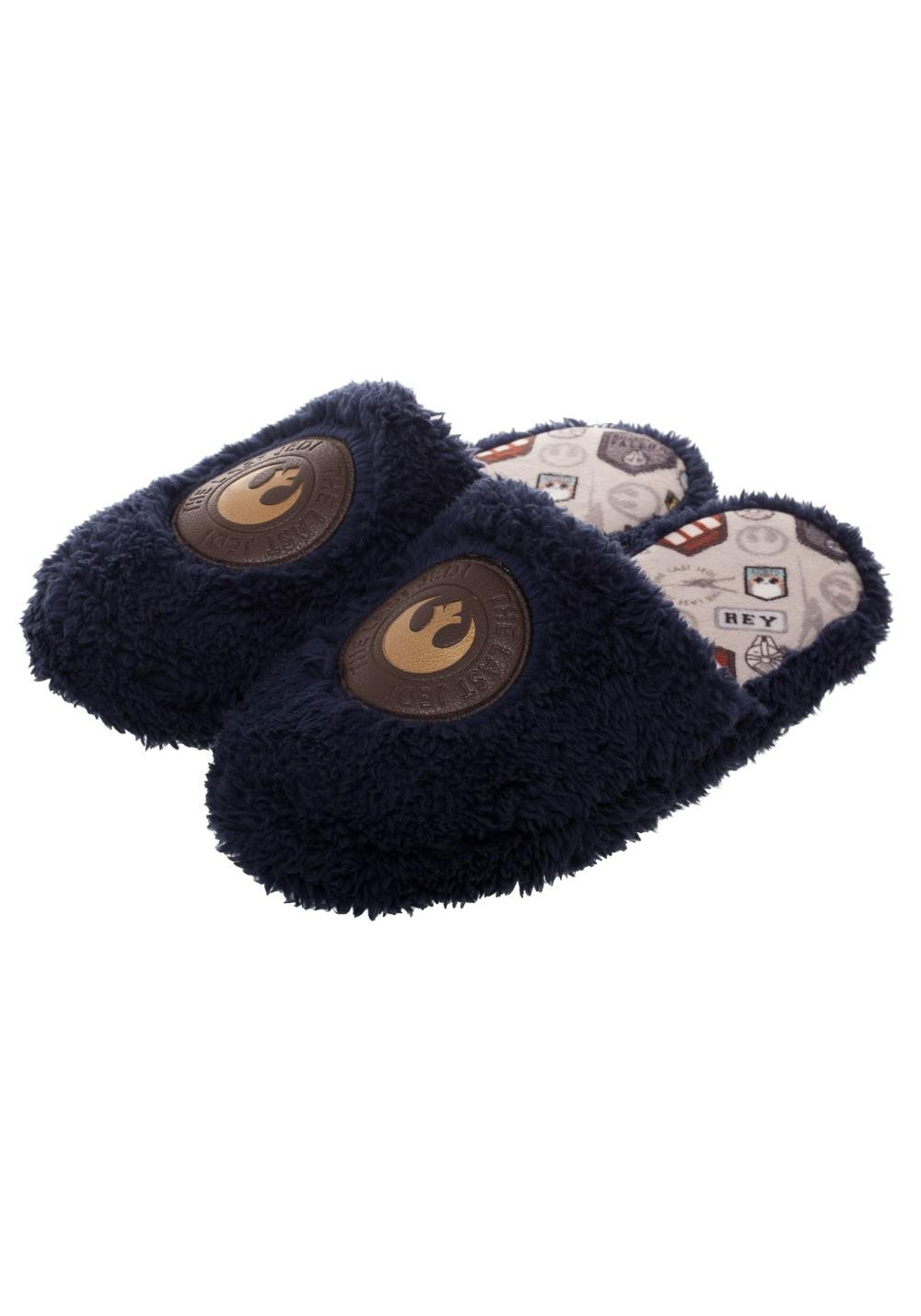 TLJ Rey-Inspired Scuff Slippers