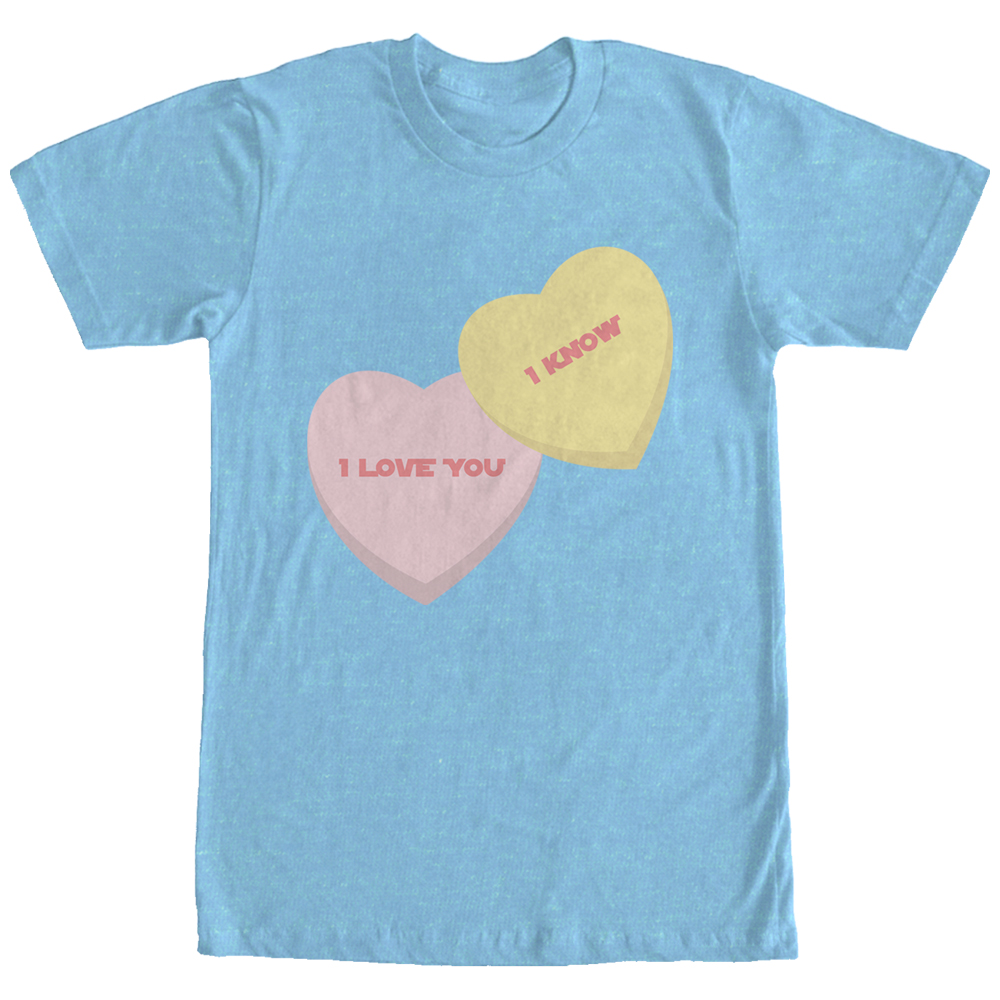 "SW Valentine's Day ""I love You I Know"" Candy Hearts T-Shirt"