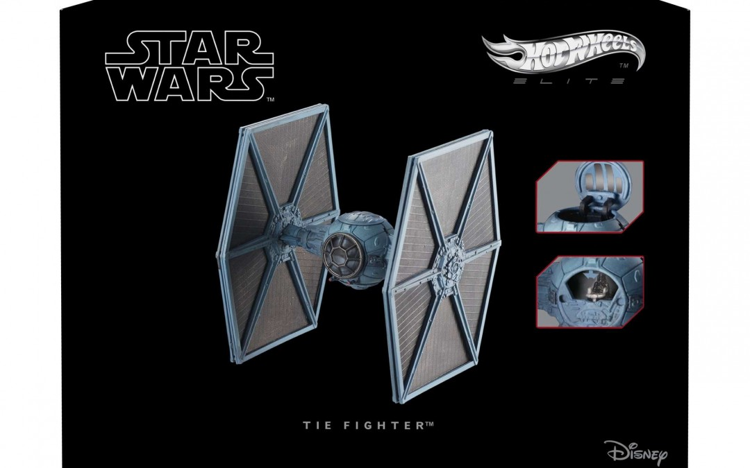 New A New Hope Hot Wheels Imperial TIE-Fighter Starship in stock!