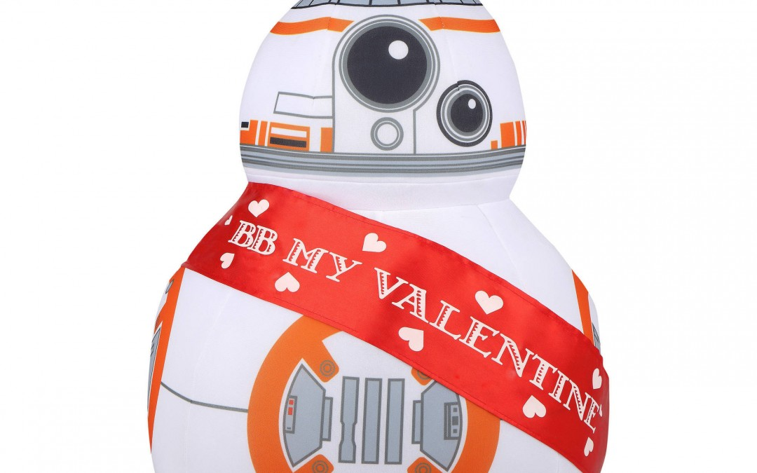 New Star Wars BB-8 Valentine's Day Greeter Plush Character now available!