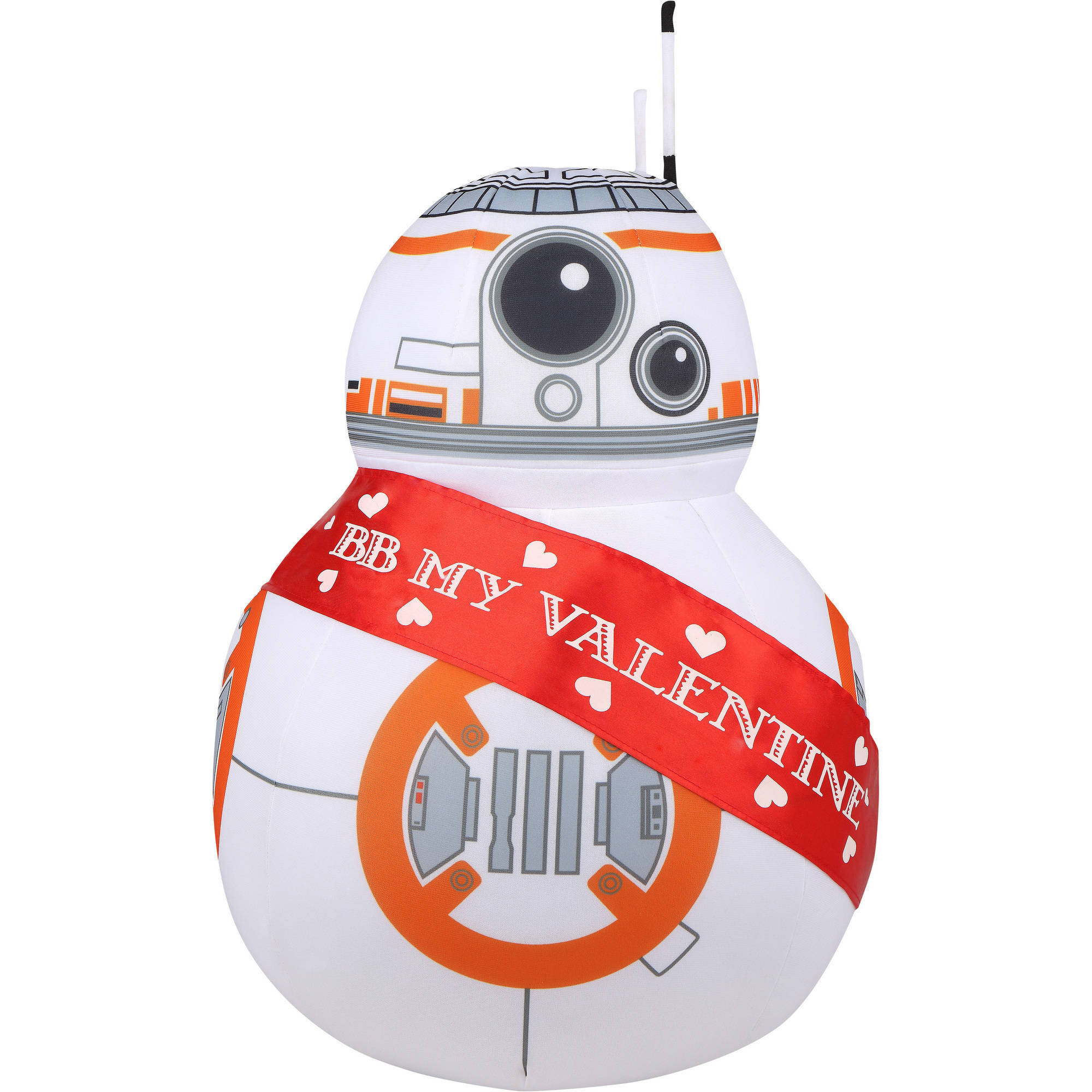 SW BB-8 Valentine's Day Greeter Plush Character