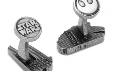 New Last Jedi Resistance vs. First Order Cufflinks now in stock!