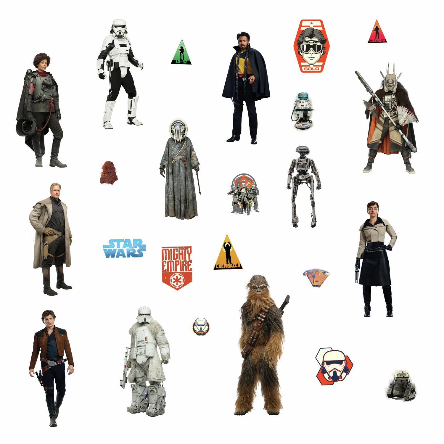 Solo: ASWS Wall Decal Stickers 24-Pack 3
