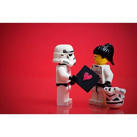 New Star Wars Valentine's Day Love Card Edible Frosting Cake Topper now in stock!