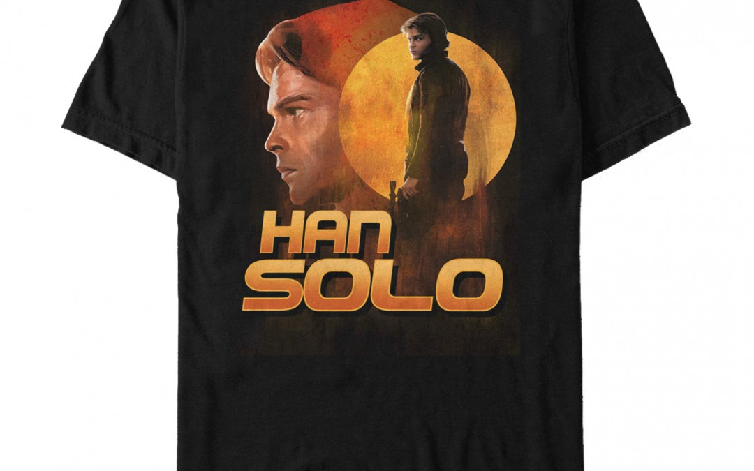 New Solo Movie Han Solo Dusty Sunset T-Shirt available now!