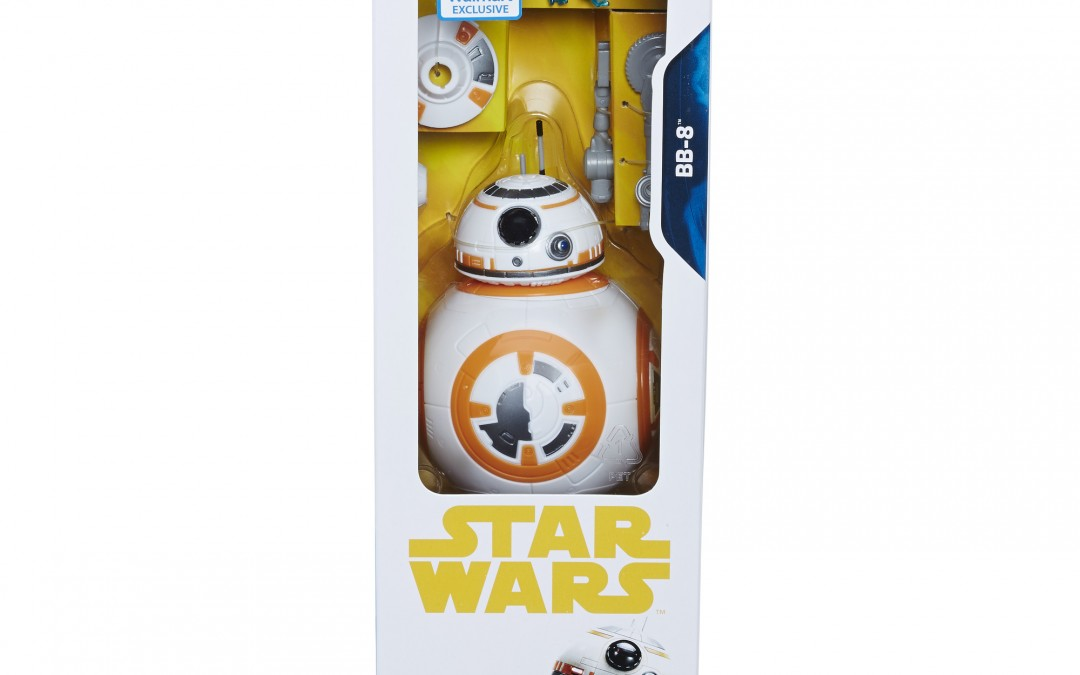 New Exclusive Solo Movie (Force Awakens) 12-inch BB-8 Figure now in stock!