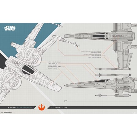 New Last Jedi X-Wing Collector's Edition Poster now available!