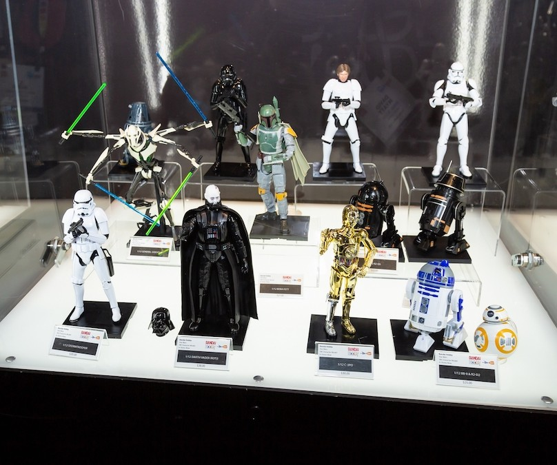 2019 International Toy Fair Star Wars Bandai Spirits Hobby and Movie Realization Figures Preview!