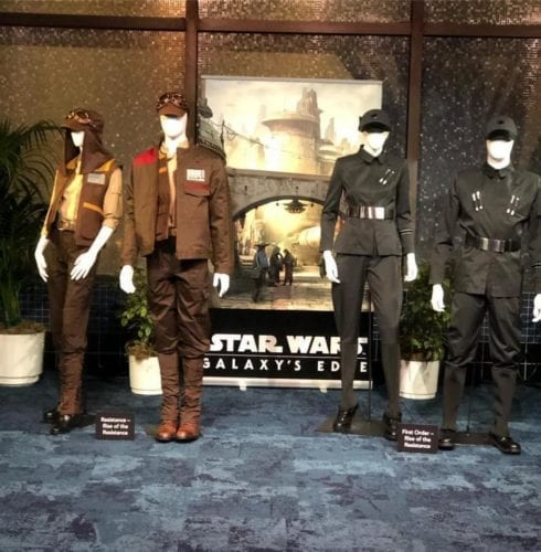 New Star Wars Galaxy's Edge Cast Costumes now revealed!