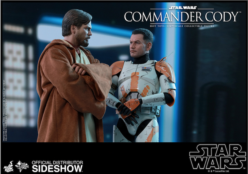 New Revenge of the Sith Commander Cody 1/6th scale figure available for pre-order!