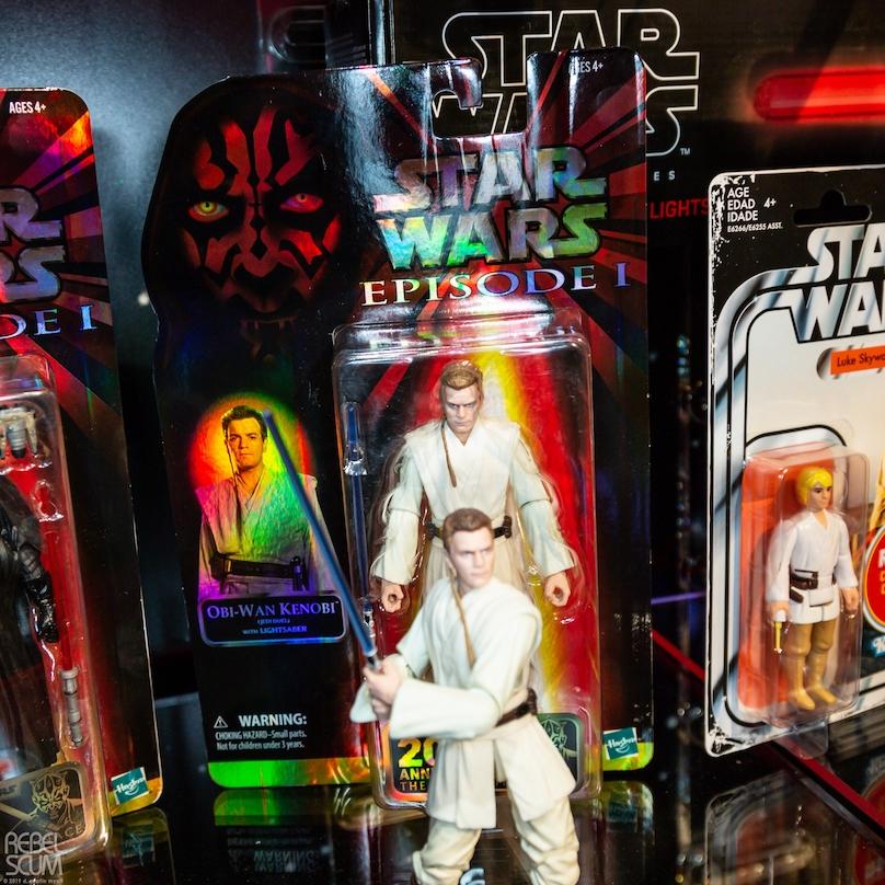 TPM Obi-Wan Kenobi 20th Anniversary Black Series Figure