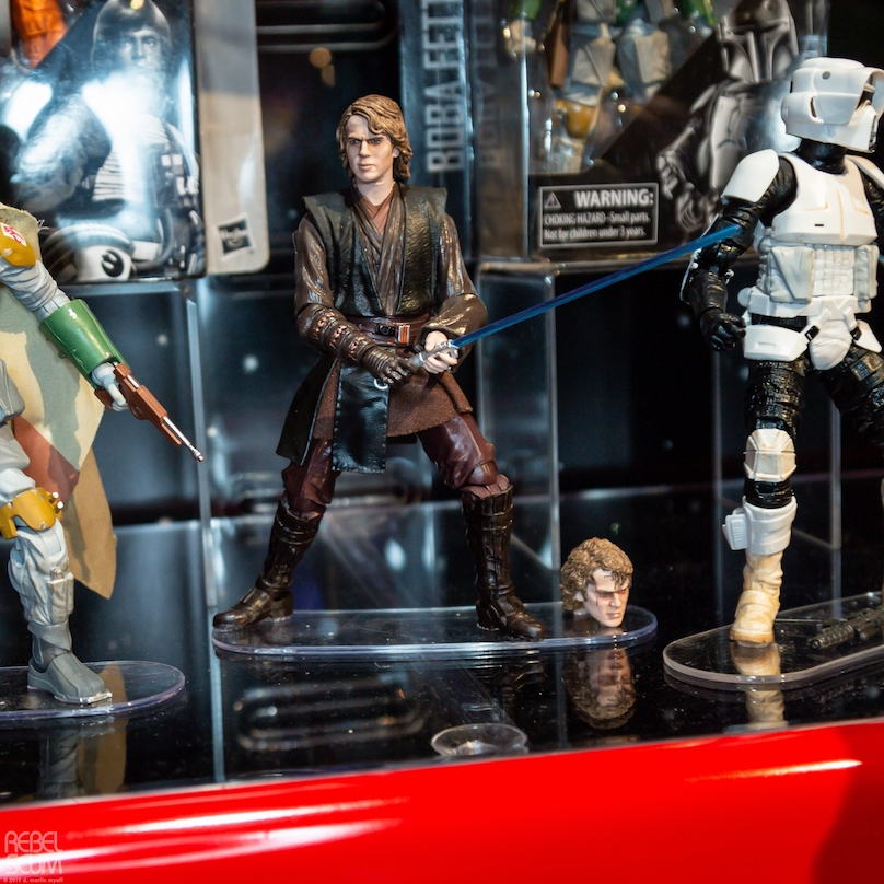 ROTS Anakin Skywalker Black Series Figure