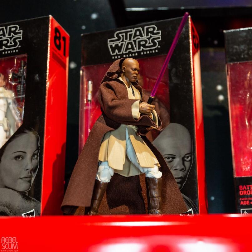 SW Mace Windu Black Series Figure
