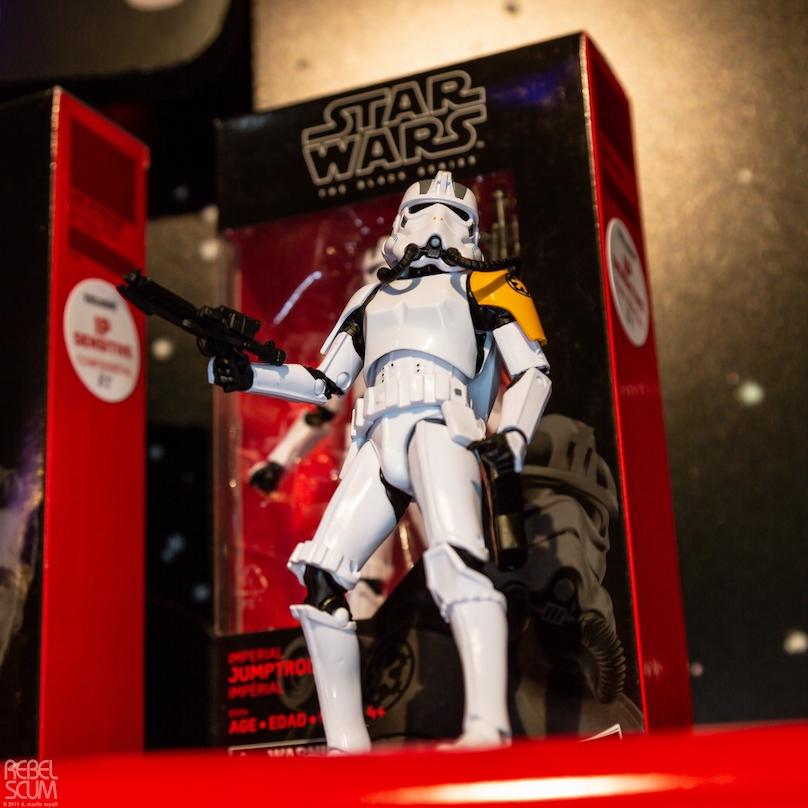 SW Imperial Jumptrooper Black Series Figure