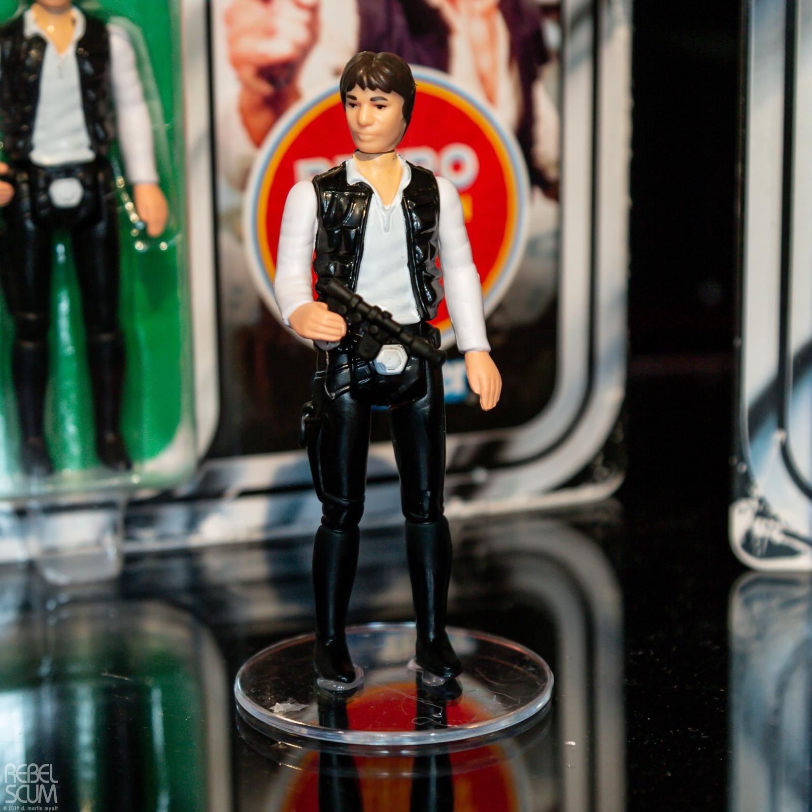 SW Retro Han Solo Figure