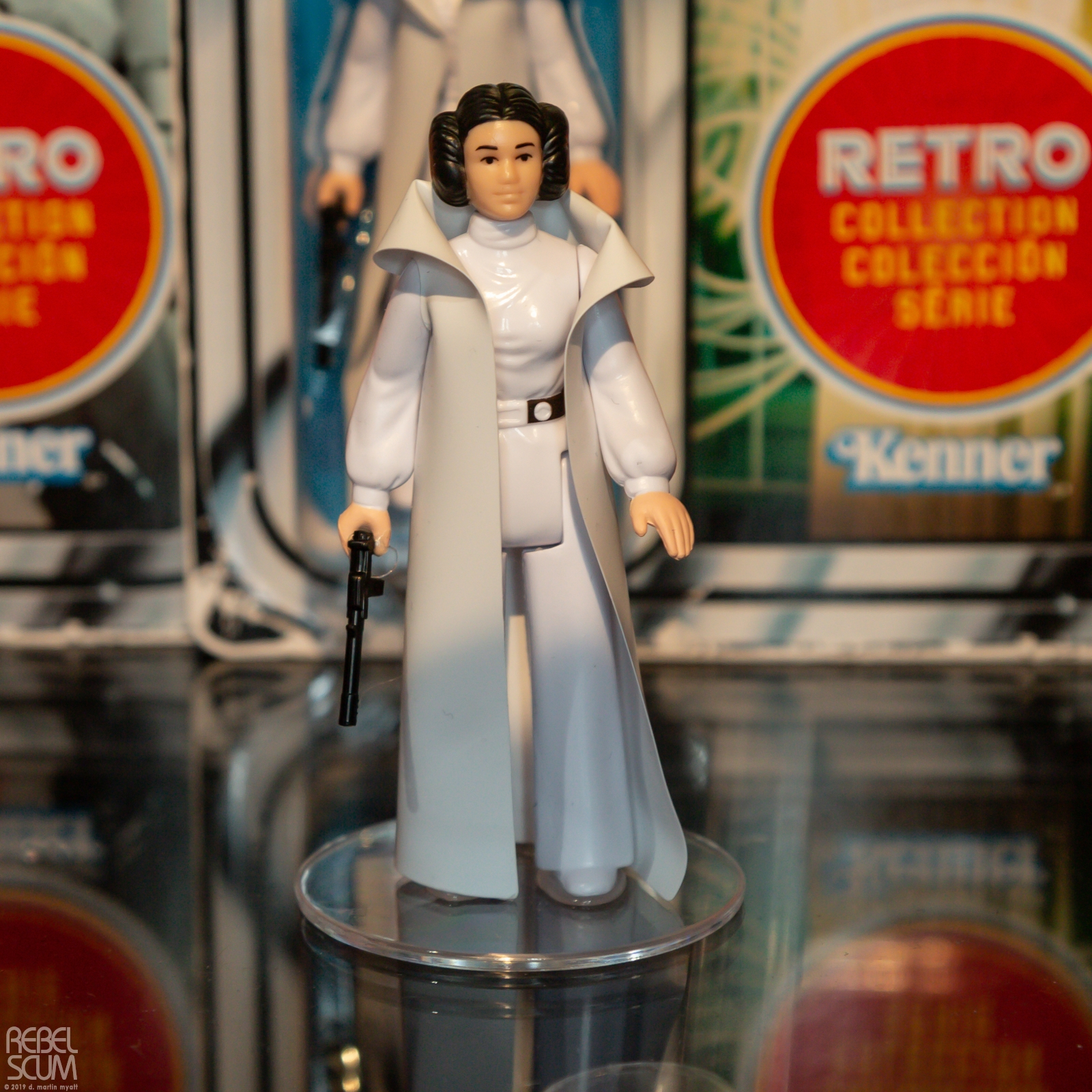 SW Leia Retro Figure