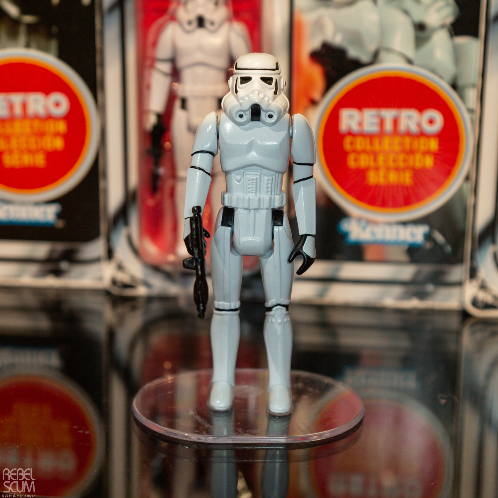 SW Retro Stormtrooper Figure