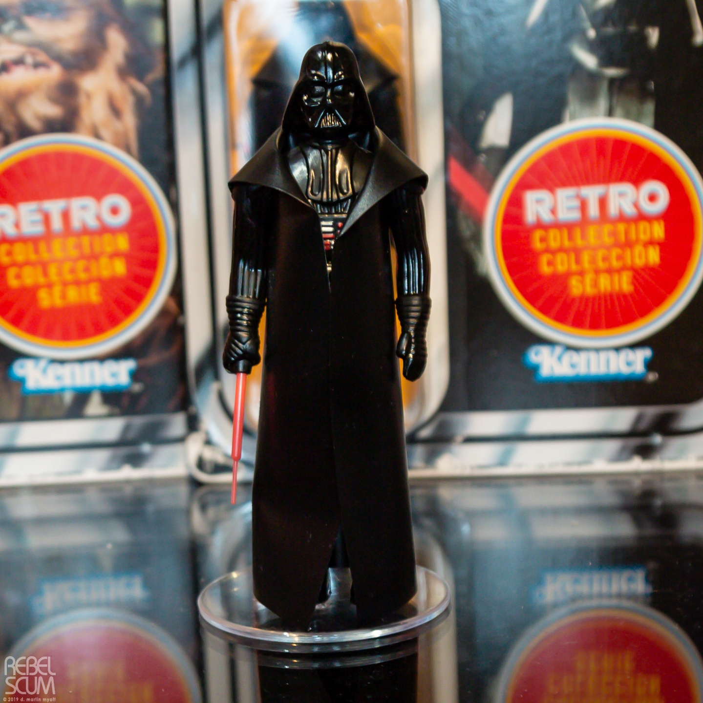 SW Retro Darth Vader Figure