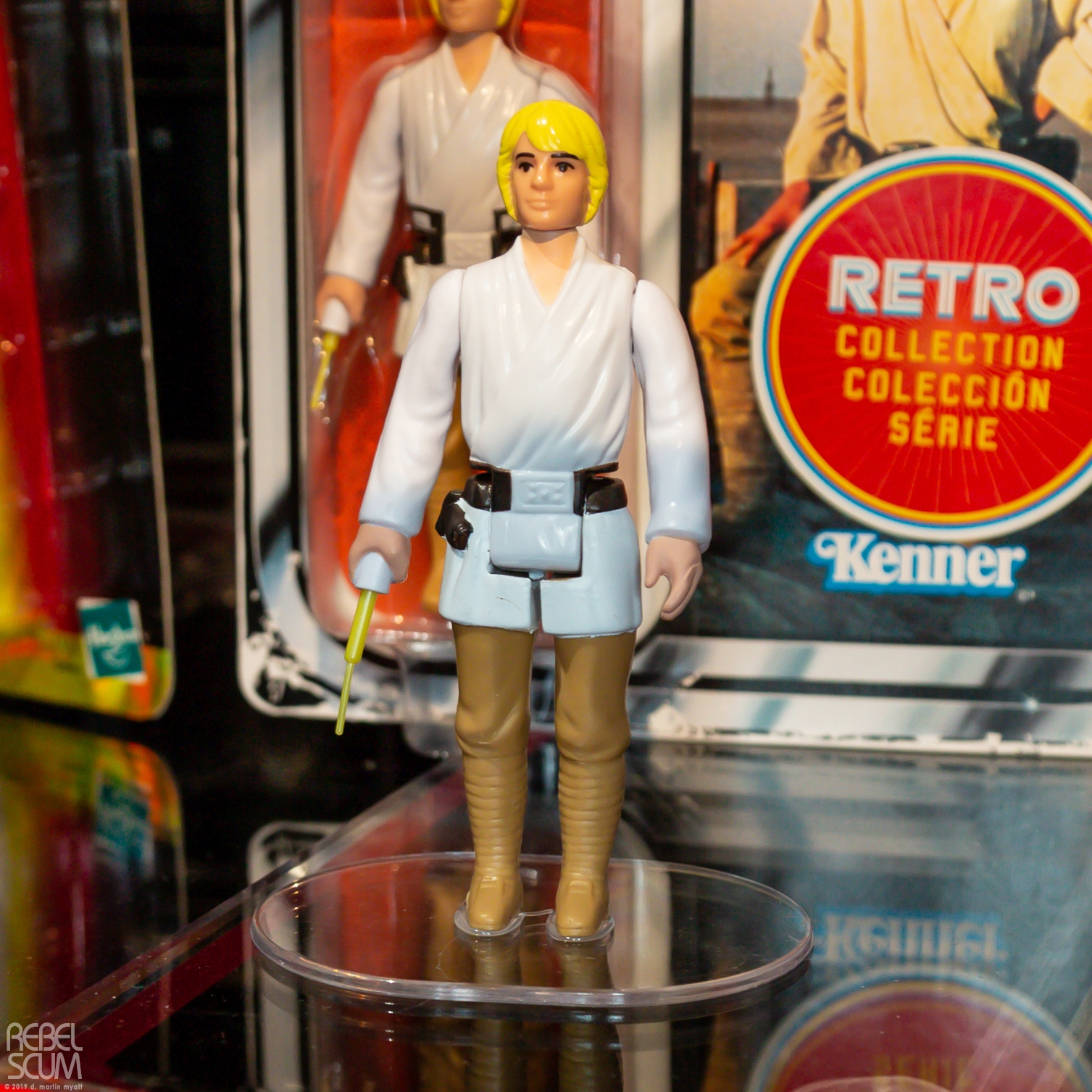 SW Retro Luke Skywalker Figure