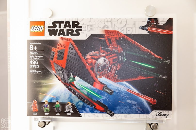 SWR Major Vonreg's Tie Fighter Lego Set