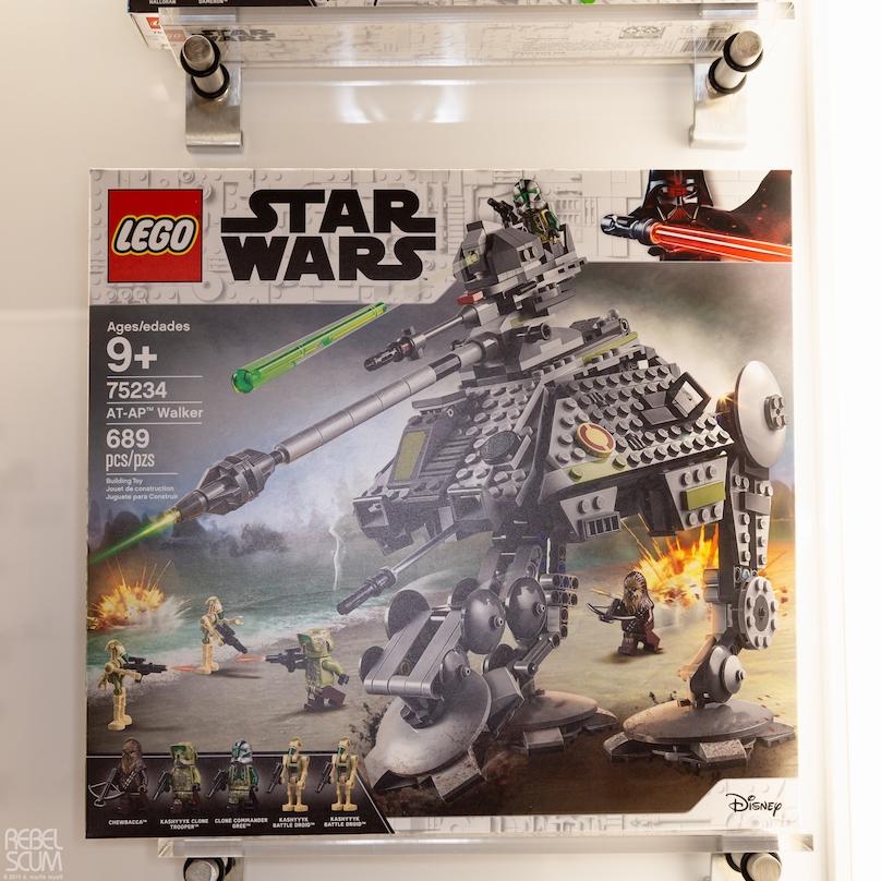 ROTS AT-AP Walker Lego Set