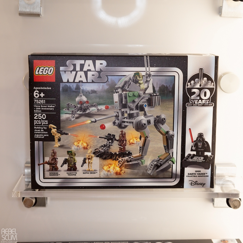 ROTS Clone Scout Walker 20th Anniversary Edition Lego Set