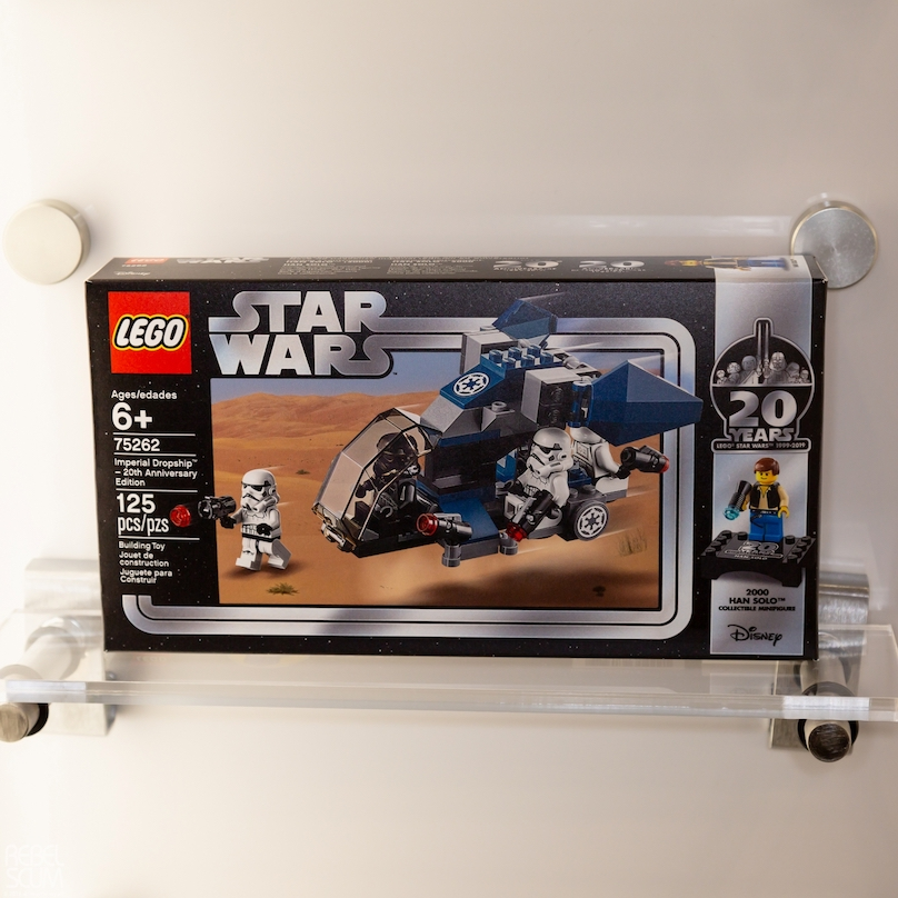 SW Imperial Droid Ship 20th Anniversary Edition Lego Set