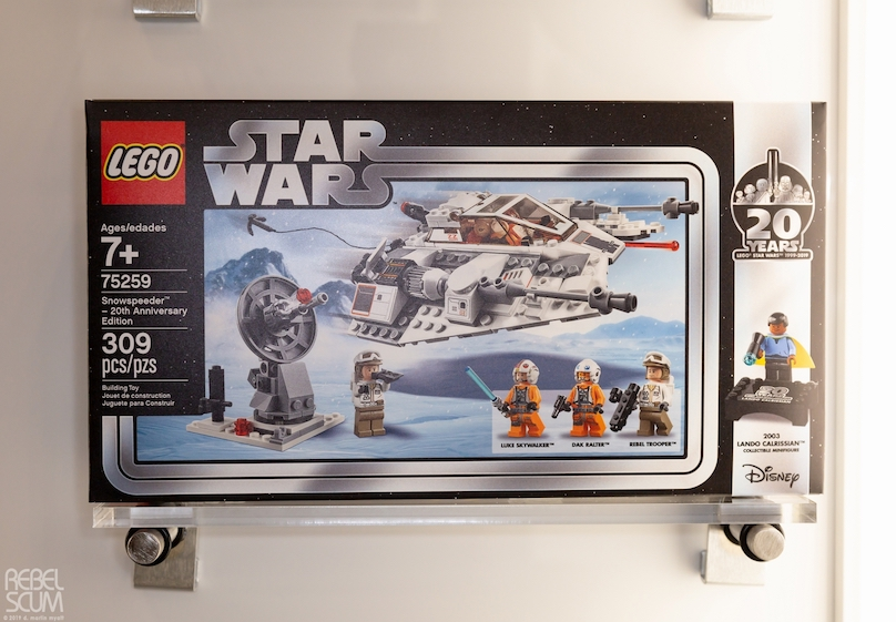 TESB Snowspeeder 20th Anniversary Edition Lego Set