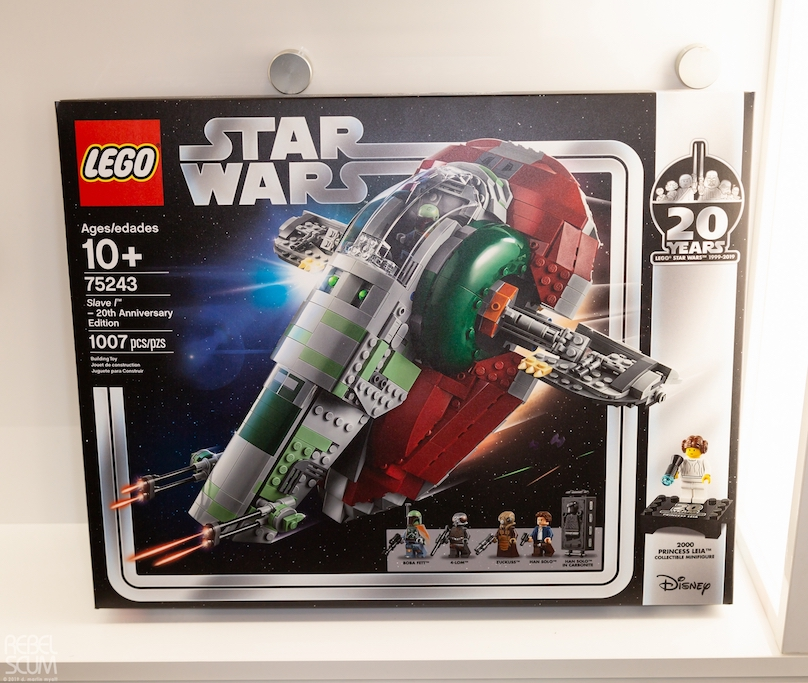 TESB Slave I 20th Anniversary Edition Lego Set