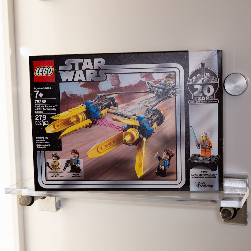 TPM Anakin's Podracer 20th Anniversary Edition Lego Set