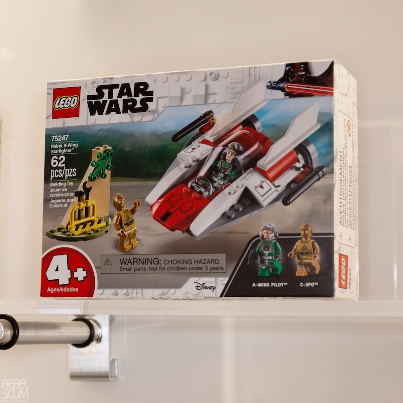 SW Rebel A-Wing Fighter Lego Set