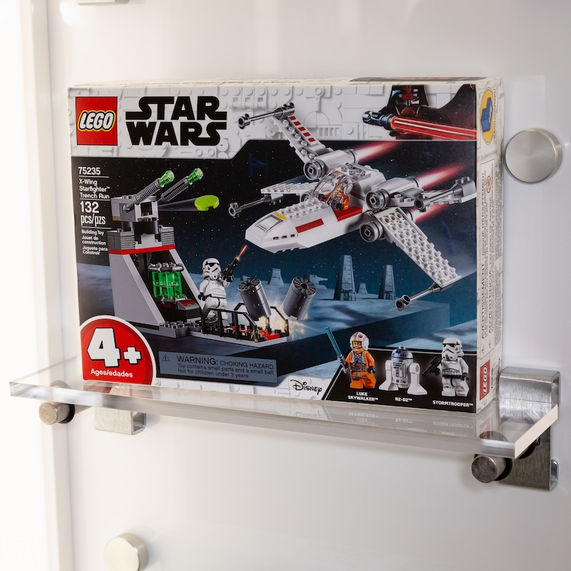 SW X-Wing Starfighter Trench Run Lego Set
