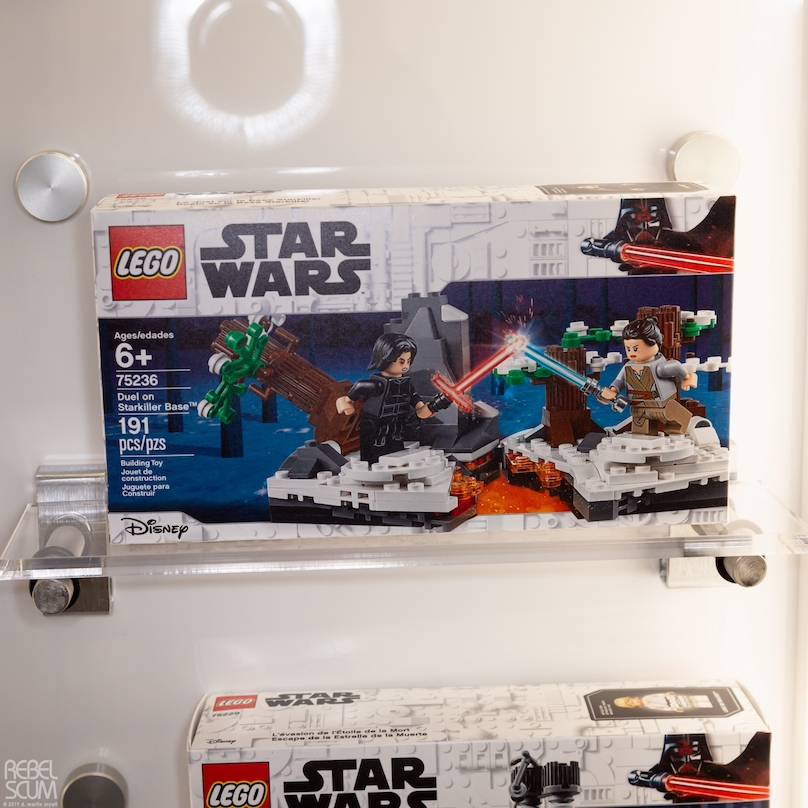 TFA Duel on Starkiller Base Lego Set
