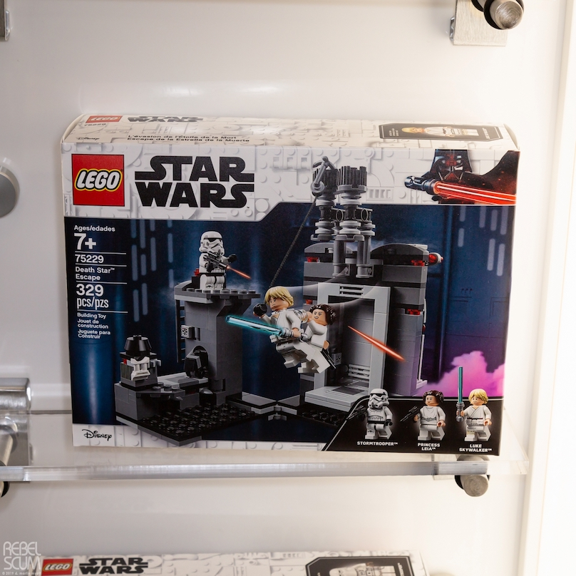 ANH Death Star Escape Lego Set