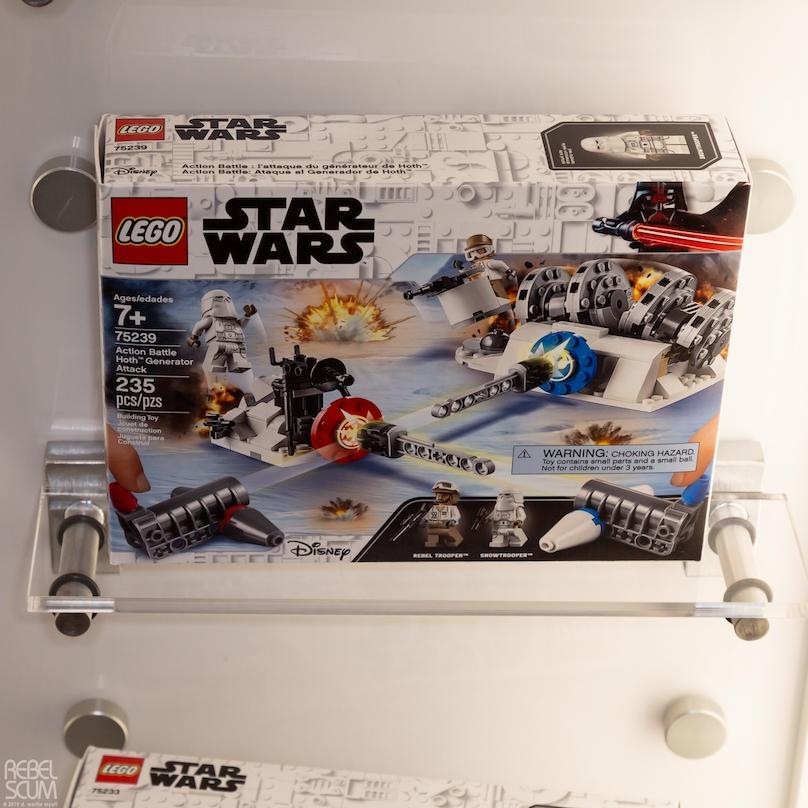 TESB Hoth Generator Attack Lego Set
