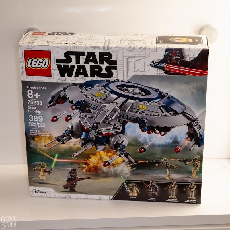 ROTS Droid Gunship Lego Set